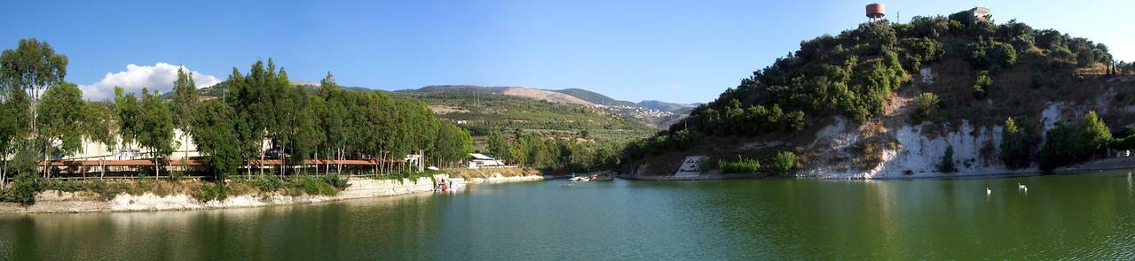 6 shot panorama from Bneshee Lake