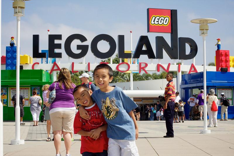 <center>Legoland, CA : June 25, 2010</center>