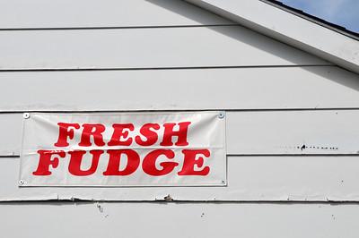 Nothing says UP like fudge.