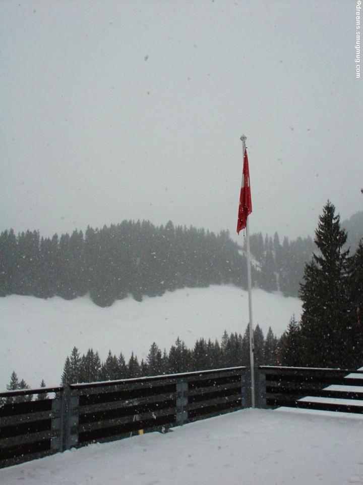 Martin's birthday: More snow!!!