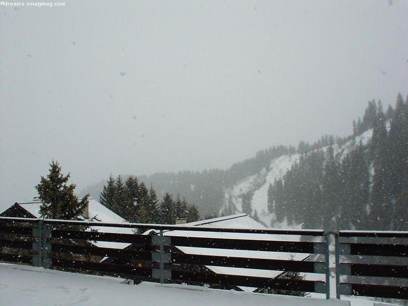 Even more snow...