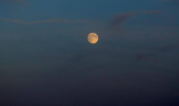 Lever de lune sur Kerhostin