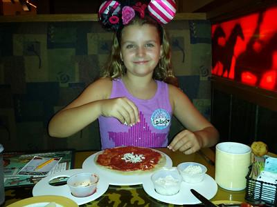 Lindsey's 10th Birthday Trip to California