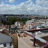 Panoramic view from the terrace at the Real Parque Hotel