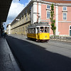 Old trams are still in daily use