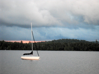 Gaylord's sailboat