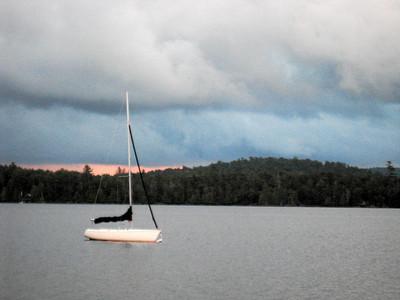 Gaylord's sailboat