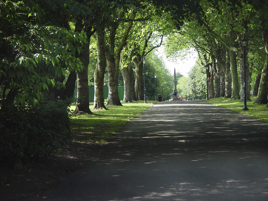 Sefton Park, July 2004