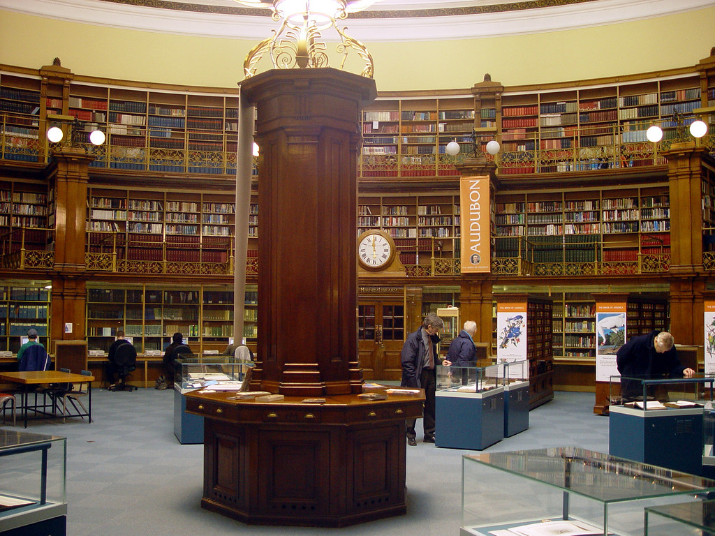 Picton Library, where Linda studied for her A Levels in silent Victorian splendour. Unfortunately, the Victorian reading desks, which were arranged spoke-fashion around the library, are no more.