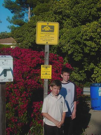 Liz & Boys Visit USA 2004