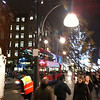 crowds on Oxford Street, shopping for Xmas