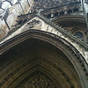 front door of Westminster Abbey