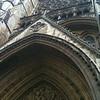 front door of Westminster Abbey