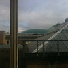 view out the back of UNC Winston House, over the roof of the British Museum