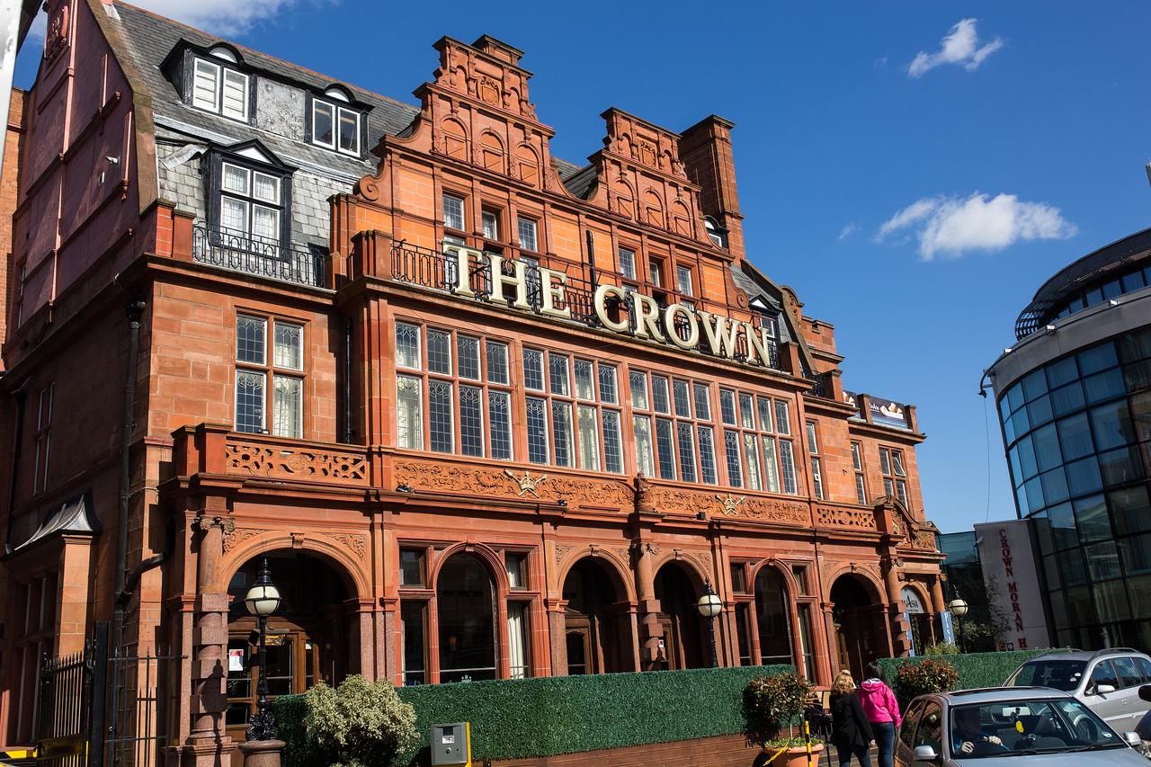 Our hotel, Crown Moran