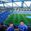 at Chelsea Stadium