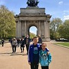 Wellington Arch...just off Hyde Park down from Buckingham Palace