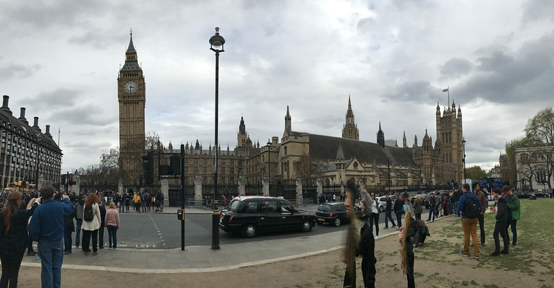 Pano showing Big Ben and Parliament.