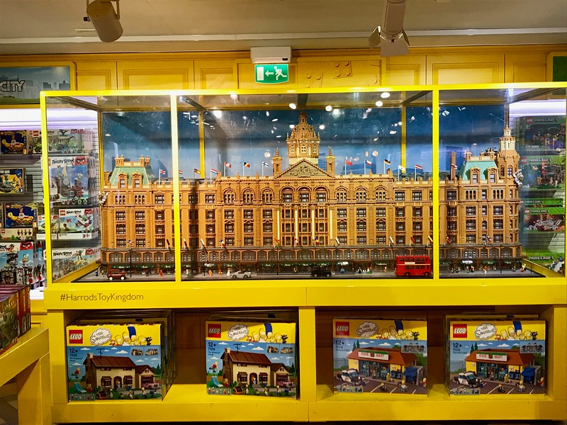 Lego Harrod's at...Harrods.  :)