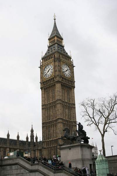Big Ben from the River Thames