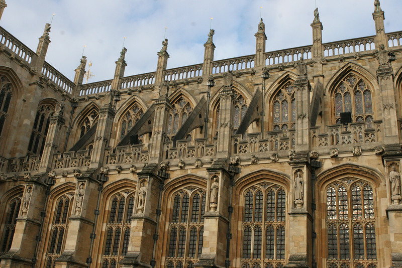 St. Georges Chapel at Windsor Castle
