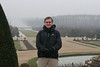 Chateau De Versailles - Jeff in the parc - Burrrrrr, it\'s cold!