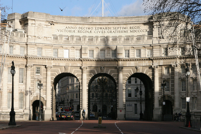 Entrance to Buckingham Palace