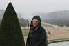 Chateau De Versailles - Amy in the parc - Burrrrrr, it\'s cold!