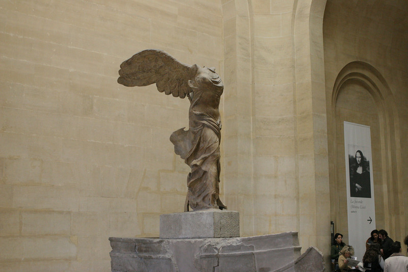 The Louvre - The Winged Angel.