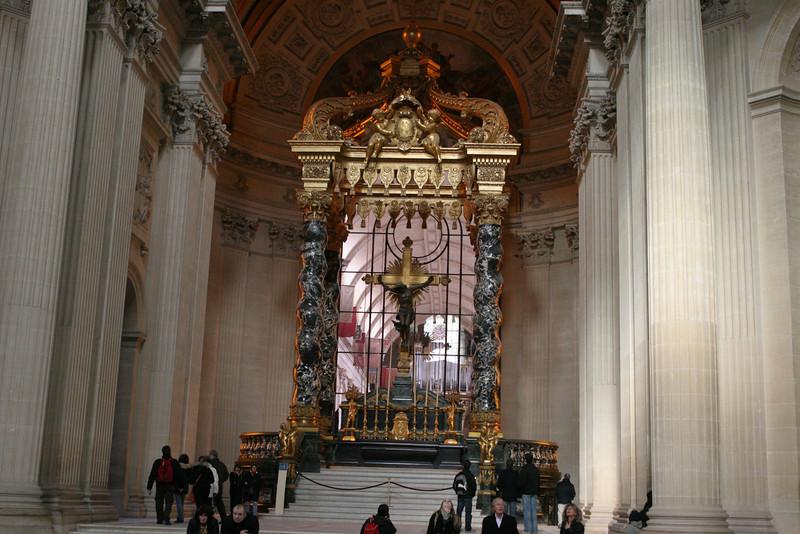 Inside Napoleon's Tomb
