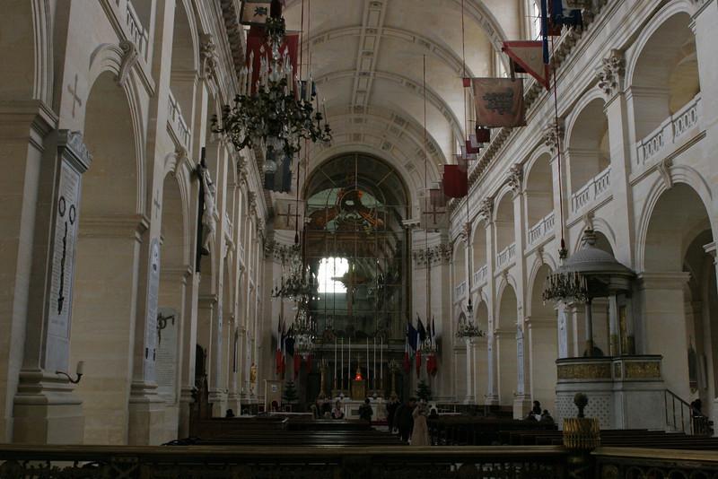 The chapel outside Napoleon's Tomb