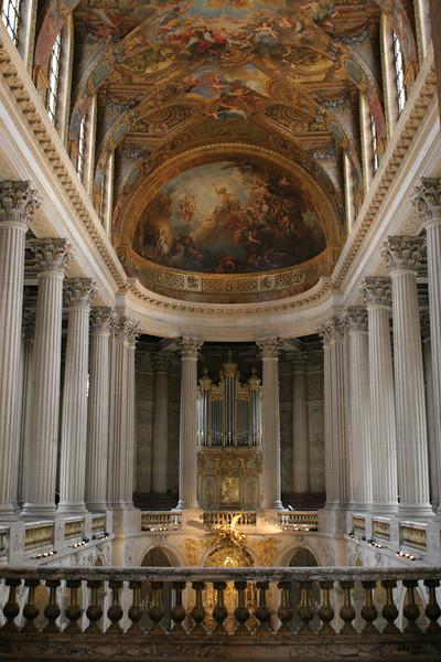 Chateau De Versailles - Looking into the Chapel Royal.