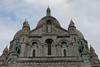The Basilique Sacré-Cœur (Basilica of the Sacred Heart) is a Roman Catholic church and familiar landmark on Montmarte, Paris.