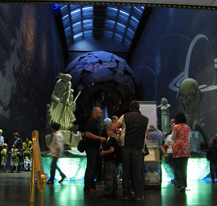 Entrance hall of the Nat. History museum