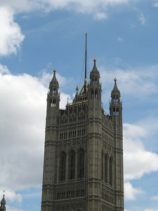 Westminster and the sky