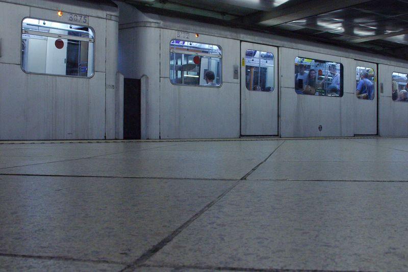 Underground train.