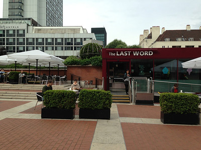 The Last Word cafe at The British Library.