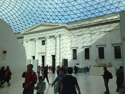 British Museum.   For more pictures of the museums we visited, and what we saw in them, visit separate Museums album.