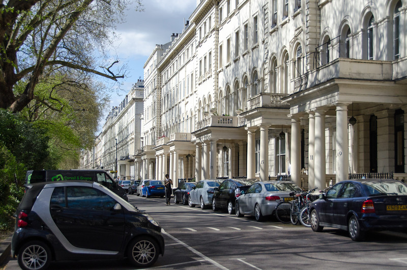 Front of hotel (Royal Park, London)