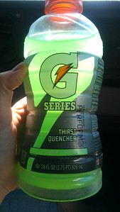 Cucumber Lime Gatorade Best thing ever