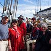 Henry, Laurie, Wes, Joanne and Eleanor ready to set sail.