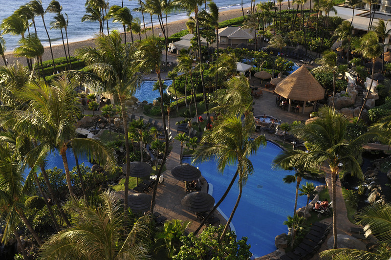 WE STAYED AT THE WESTIN RESORT AND SPA IN KAANAPALI, MAUI