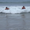 WE BOOGIE BOARDED AT DT FLEMMING BEACH.  HUGE 6 FOOT WAVES ON A GORGEOUS BEACH!  VERY FUN!