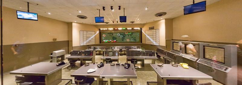 Mercury Control Center (through glass)