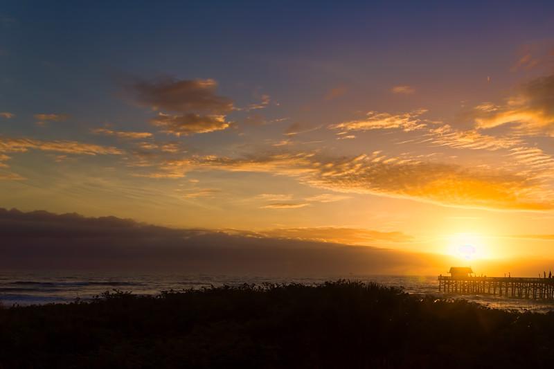 Morning in Cocoa Beach