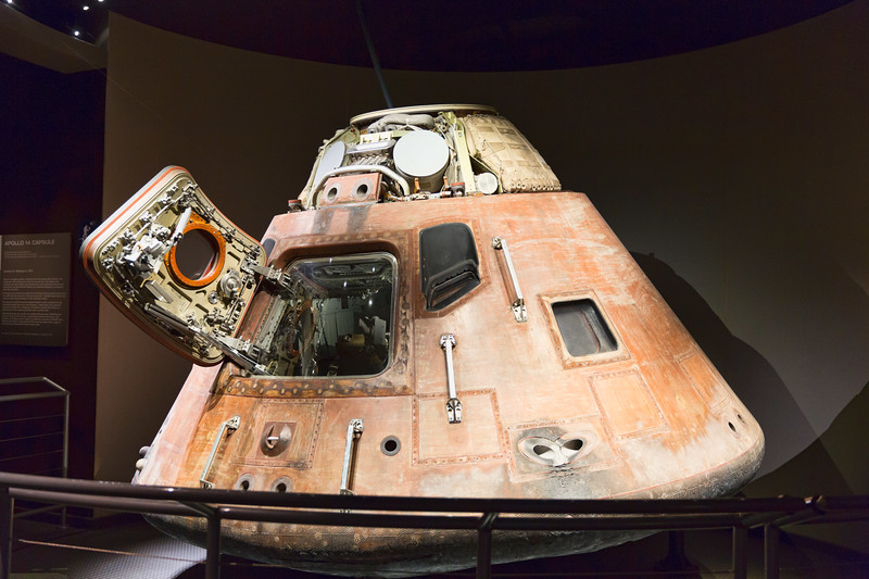 "Apollo 14 ""Kitty Hawk"" Command Module"