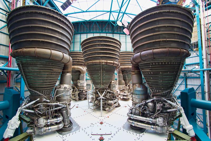 FIVE F-1 Engines