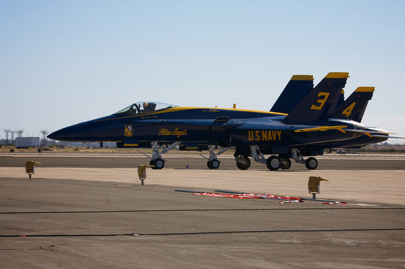 <center>The Blue Angels are about to take off</center>