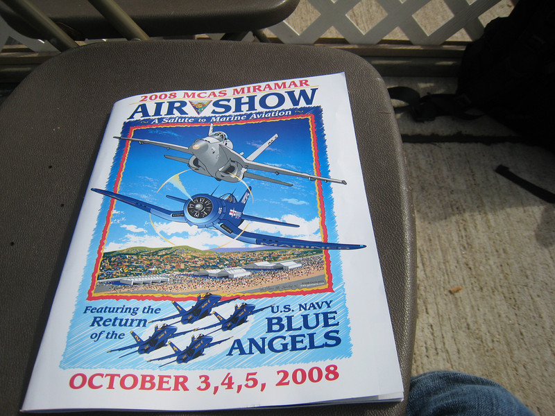 <center>Marine Corps Air Station Miramar 2008 Air Show</center>