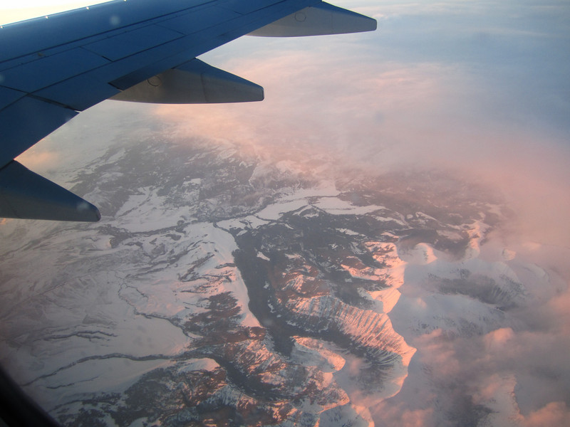 sunset from above!